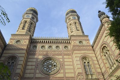 Dohany Street Synagogue. The largest synagogue in Europe and second largest in the world