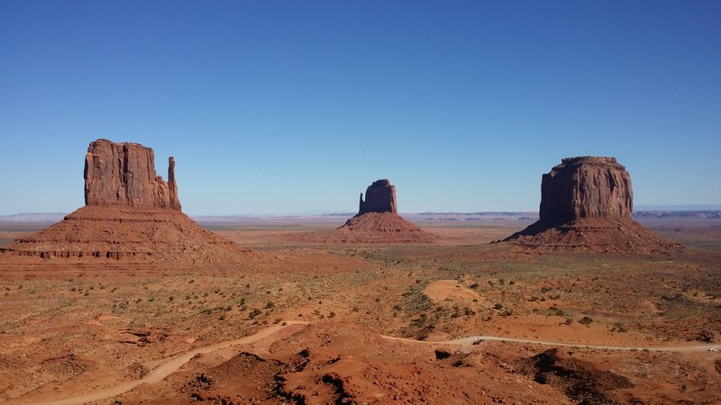 My favorite of Monument Valley.