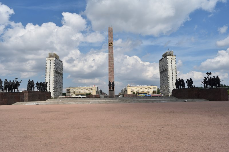 Opposite view of Victory Square