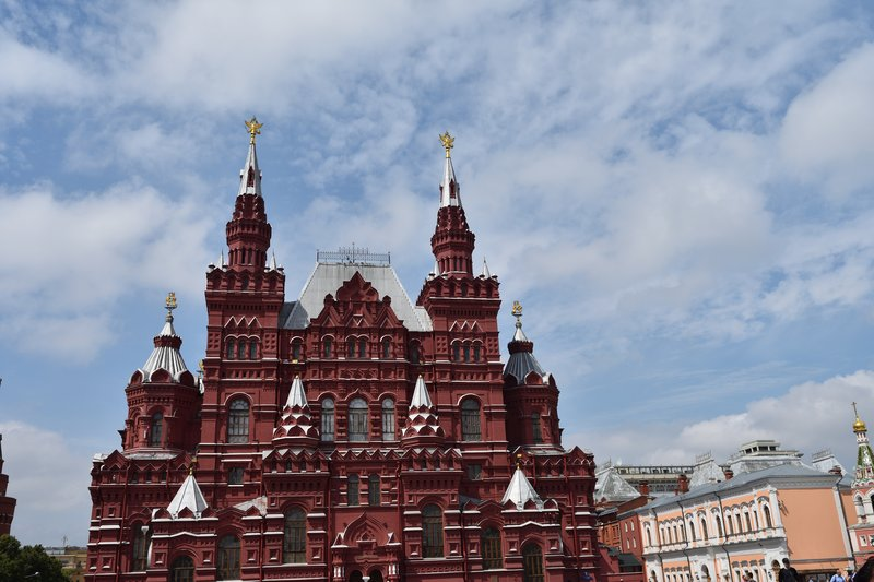 State Historical Museum from middle of Red Square