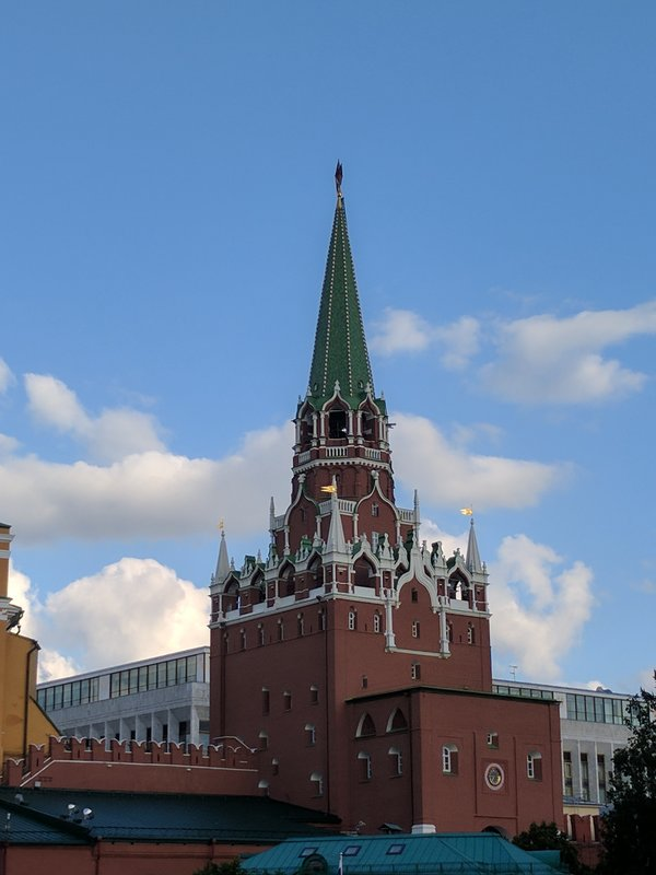 Another tower of the Kremlin