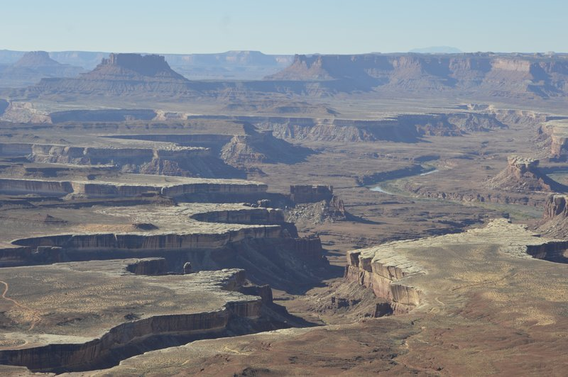 Green River Overlook.  Wonder what river that is that runs through it?