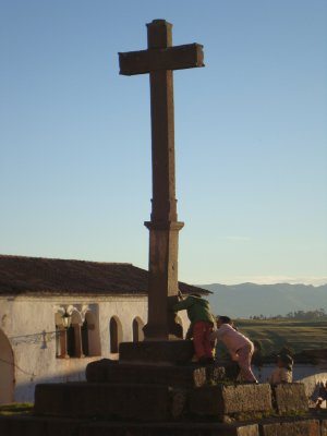 Cross in Chinchero