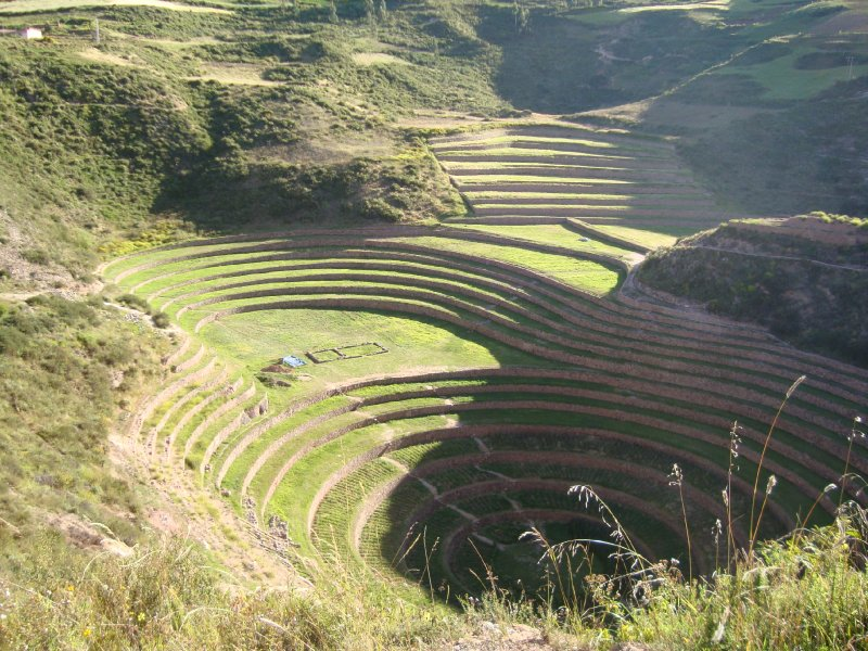 Concentric terraces in Moray