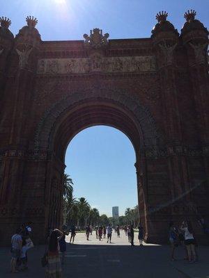 Arc de Triomf 1