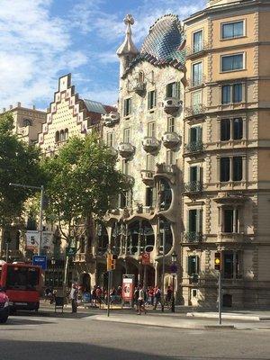 Gaudi's Casa Battlo