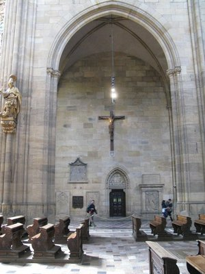 Another part of St Vitus Cathedral