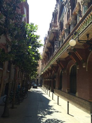 In the Gothic Quarter