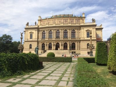 The Rudolfinum Concert Hall & Art Gallery