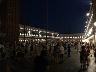 St Mark's Square at night