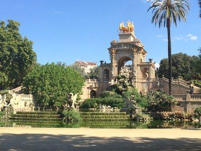 The Parc de la Ciutadella Cascada, not actually cascading