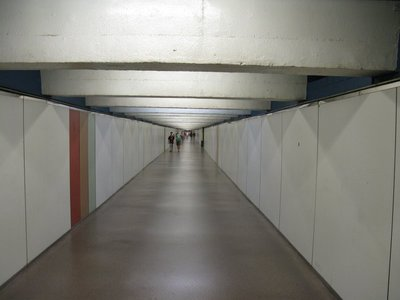 The infamous very long tunnel