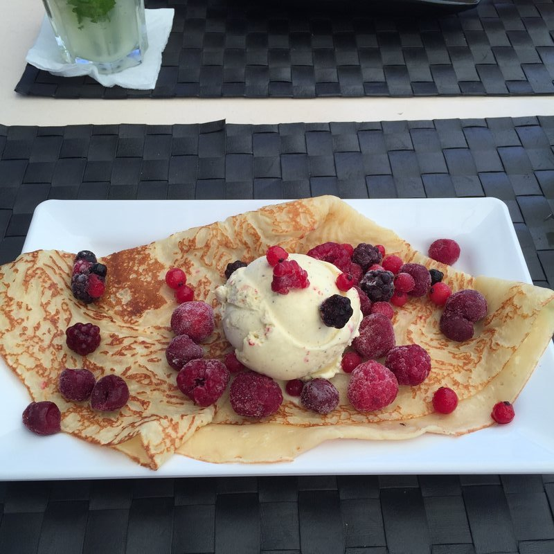 Fruits of the Forest Crepe