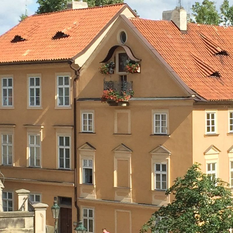 Typical Prague building