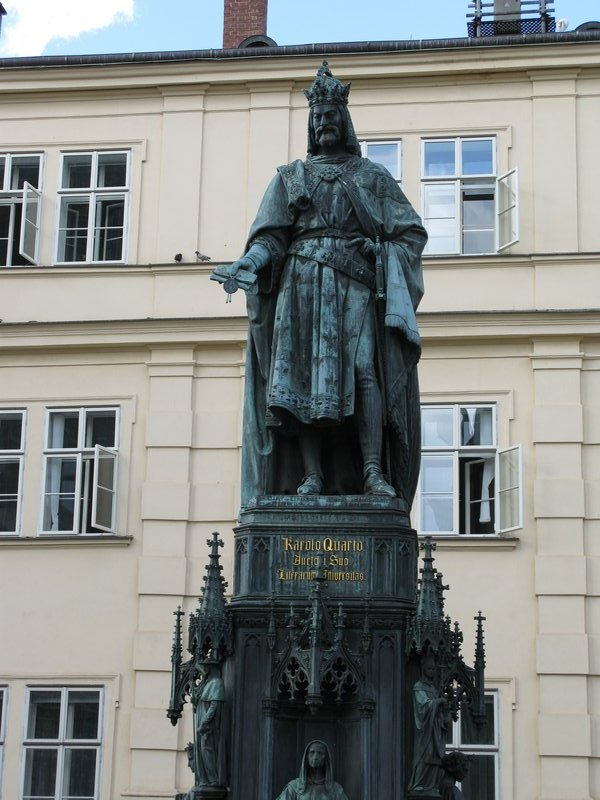 Statue of Vaclav (Wenceslas I)