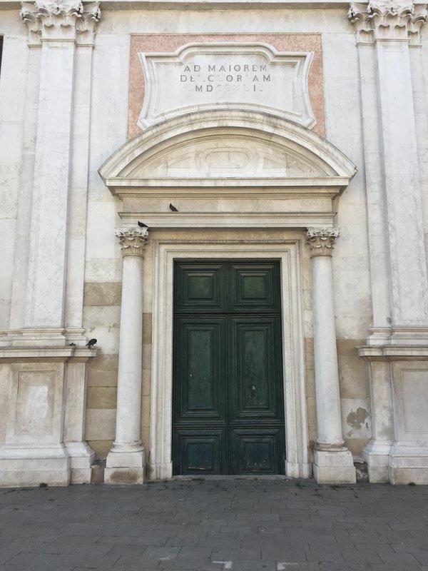 Impressive church doorway