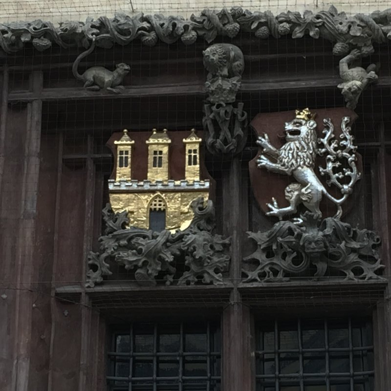 Prague Town Hall Detail