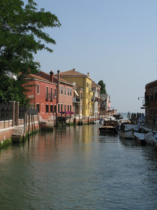 The main canal in Murano
