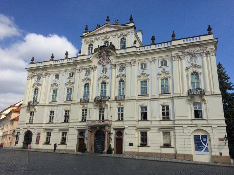 Prague Castle exterior - 1