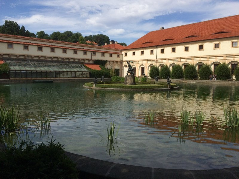 Wallenstein Gardens Lake