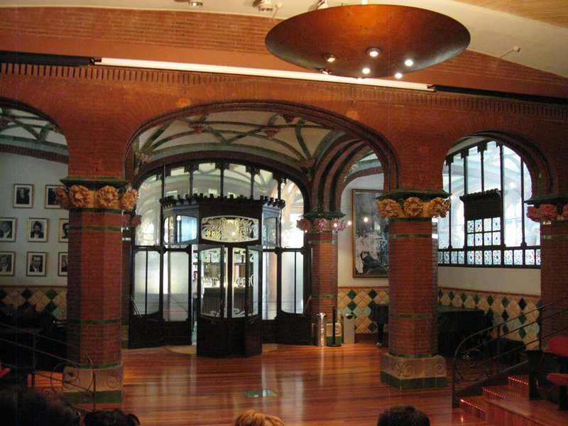 More Art Nouveau than you can shake a stick at