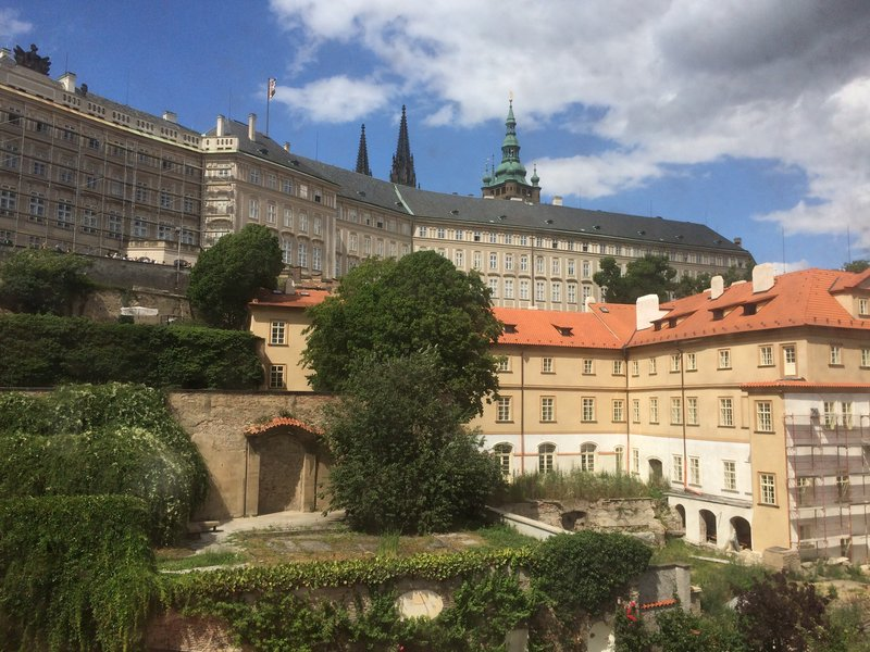 Prague Castle Buildings