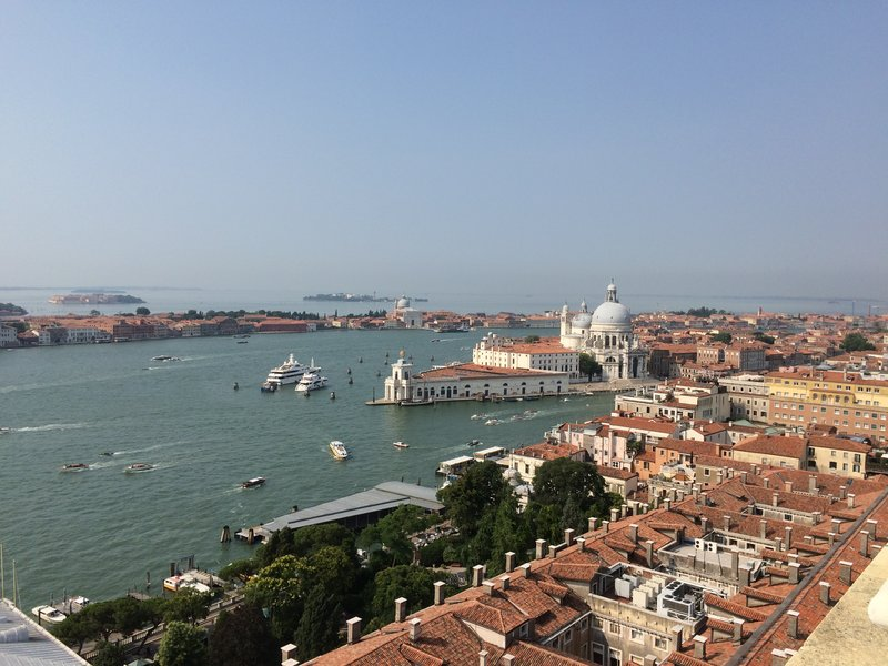 The Lagoon from the Campanile