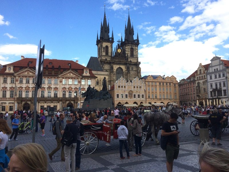Touristy Prague