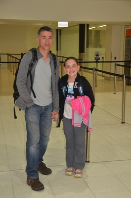 2015 Aug 28 Rodney and Lissie flying bback to Sydney (Copy)