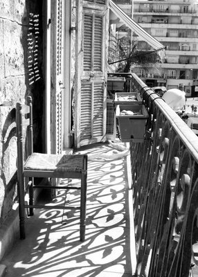 A very French balcony