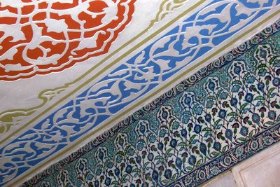 Blue Mosque tiles - detail