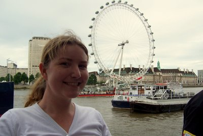 Beautiful Becca and London Eye