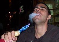 Shisha pipe smokin