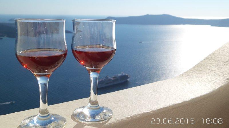 villa maria damigou balcony view