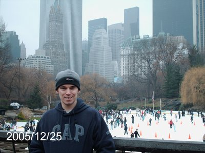 Christmas day in Central Park
