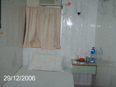 Shoebox room in Mansions