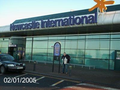 Leaving Newcastle