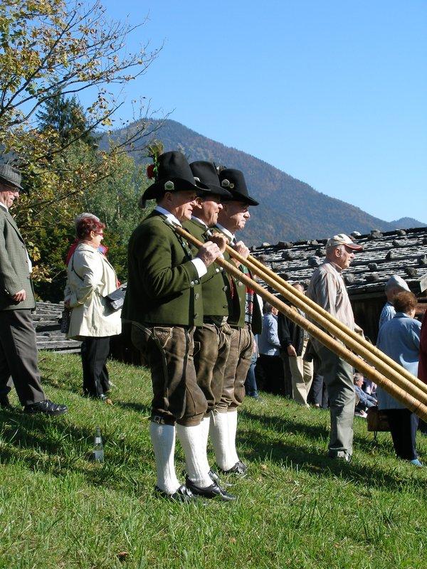 musica tipica de los Alpes