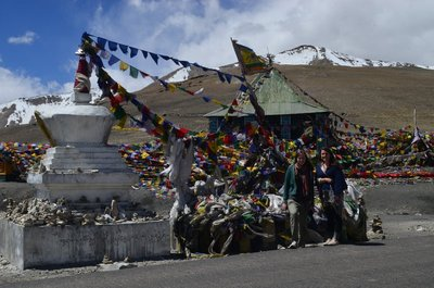 Gipfel Buddhismus Tempel