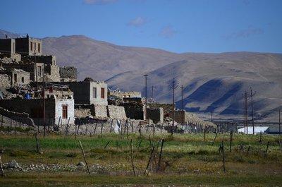 Korzok Village at Tso Moriri Lake