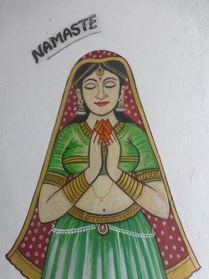 Namaste - Guten Tag