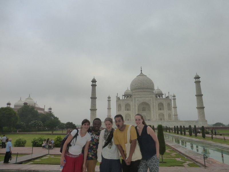 Lea, Yannik, Tanja, Ritesh, me