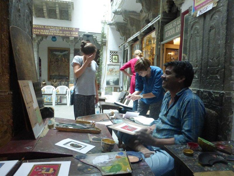Kunstatelier Udaipur