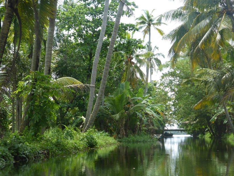 Wasserstraßen Kerala
