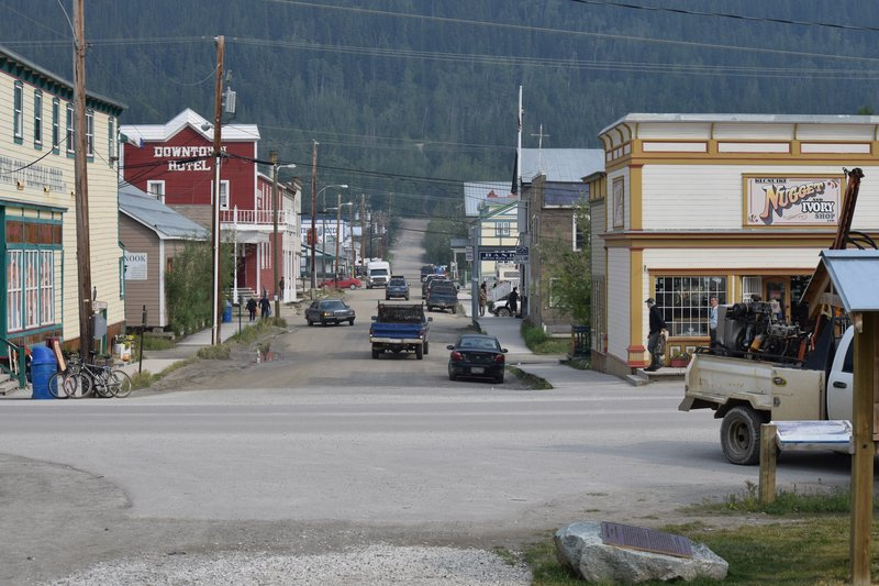 Dawson City Street