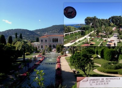 Ephrussi de Rothschild collage pic