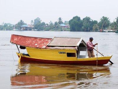 Water taxi, Sarawak river