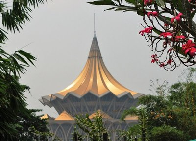 Legislative Assembly building from the orchid garden