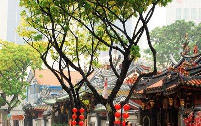 Taoist temple, Chinatown