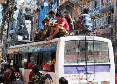 Public transport Nepal style